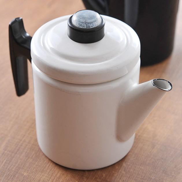 フィネル コーヒーポットホワイト