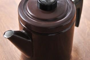 フィネル コーヒーポットブラウン